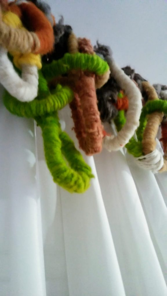tapiz lana virgen