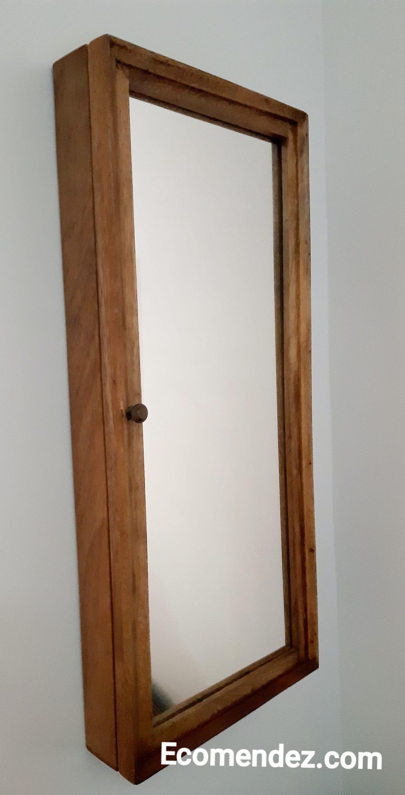 mueble-organizador-multifunciones de maderas recicladas
