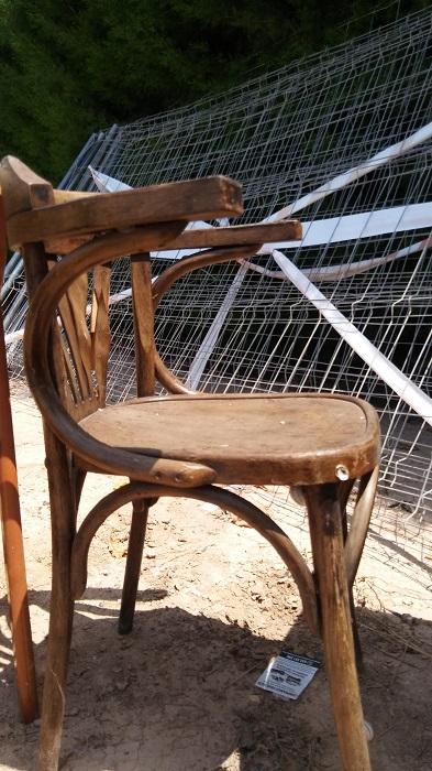 silla de madera para restaurar