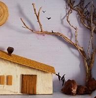 Cuadro mini-casas